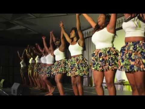 BUMAYE ASA Dance Team @ UMBC's Africa Rising 2015
