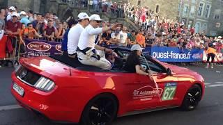 24 Heures Du Mans 2017 -  Parade des Pilotes BEST MOMENTS - Fabien Barthez, Toyota, Ford, Porsche +