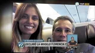 Visión 7 - Causa Nisman: Declaró la modelo Florencia Cocucci