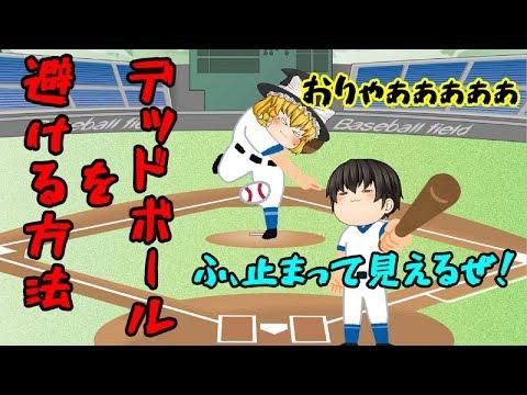 【おバカゲー実況】皆様、飛んできたボールはこう避けましょうww【東京デッドボール】