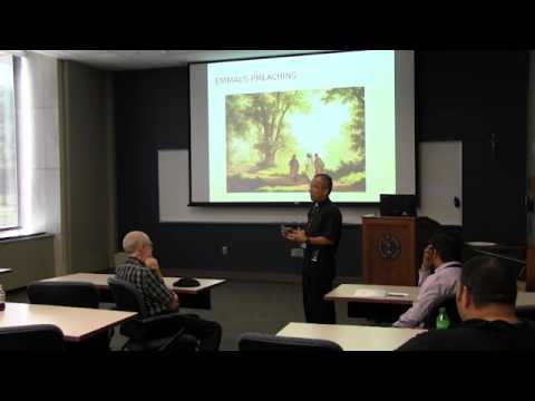 "Fr. David Garcia: ""Bilingual Preaching and Catholic Social Teaching"""