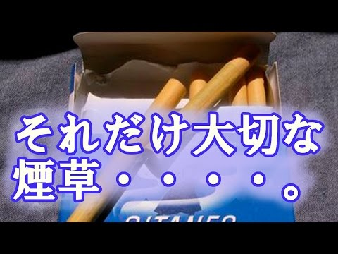 【泣ける話】おじいちゃんの青いタバコ