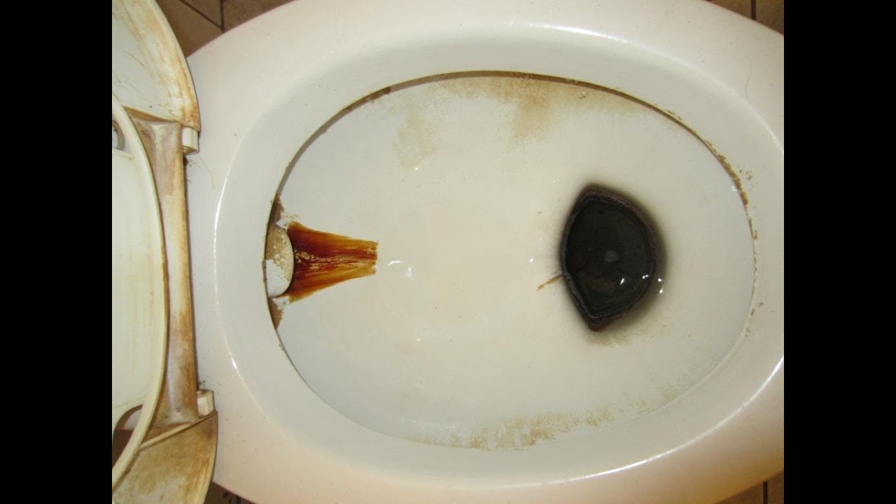 Как отчистить унитаз от ржавчины и налета в домашних условиях