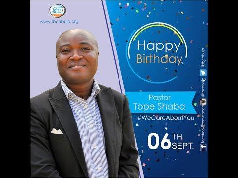 Senior Pastor's Birthday