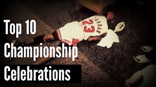 Top 10 Iconic NBA Championship Celebrations
