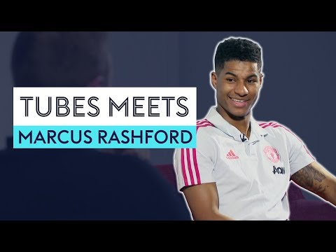 'Can you understand Solskjær's accent?!?' | Tubes Meets Marcus Rashford