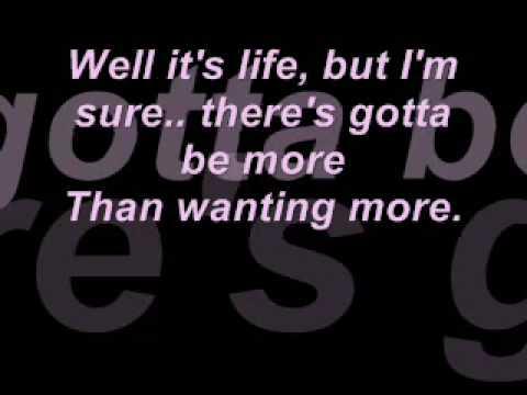 Stacie Orrico - More To Life * Lyrics *