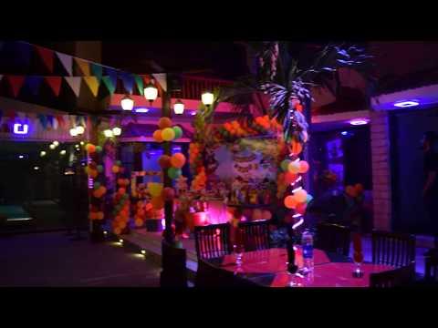Jungle Theme Birthday | The Retreat Club, Karachi