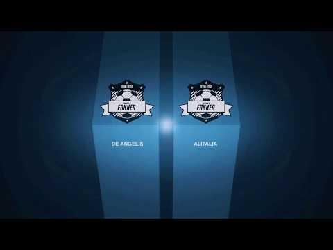 GLADIO CUP OVER 35 DE ANGELIS vs ALITALIA