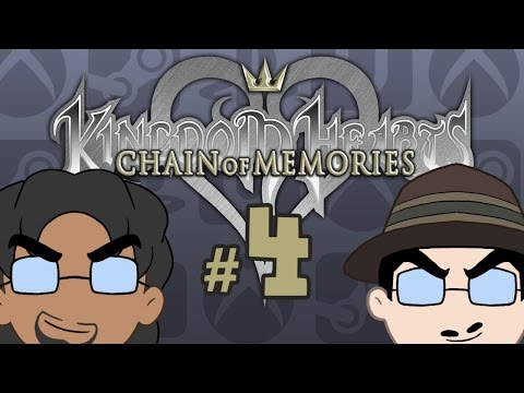 Kingdom Hearts Chain of Memories: Goldfish Memory Span - Episode 04 - Game Bros Station