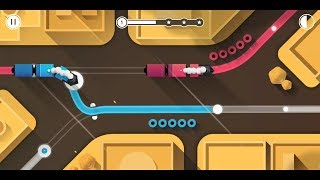 Railways (by InfinityGames.io) - puzzle game for Android and iOS - gameplay. screenshot 5
