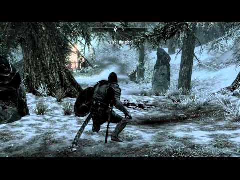 Skyrim: The Cursed Tribe ( Malacath's Quest both options )