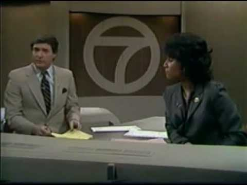 WXYZ-TV 7 DETROIT FULL NEWSCAST 2-12-1983