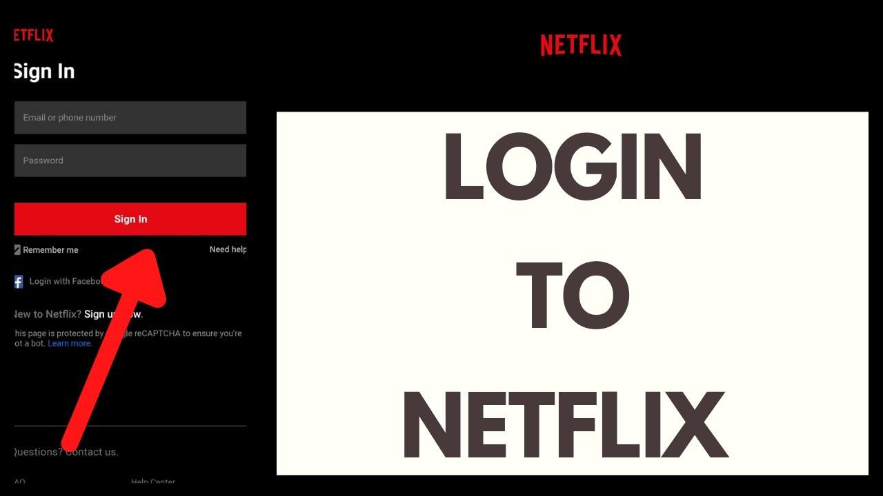 Netflix Login   How to Login to Netflix Account   Netflix Sign in ...