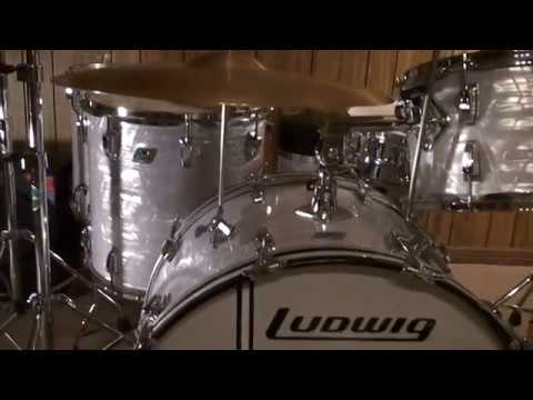 Buddy Rich 1980 Ludwig Drumset-Ken Loomer Part I