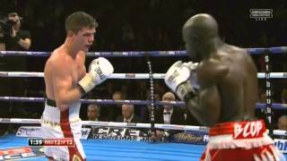 Shock defeat for Luke Cambell (Last round)