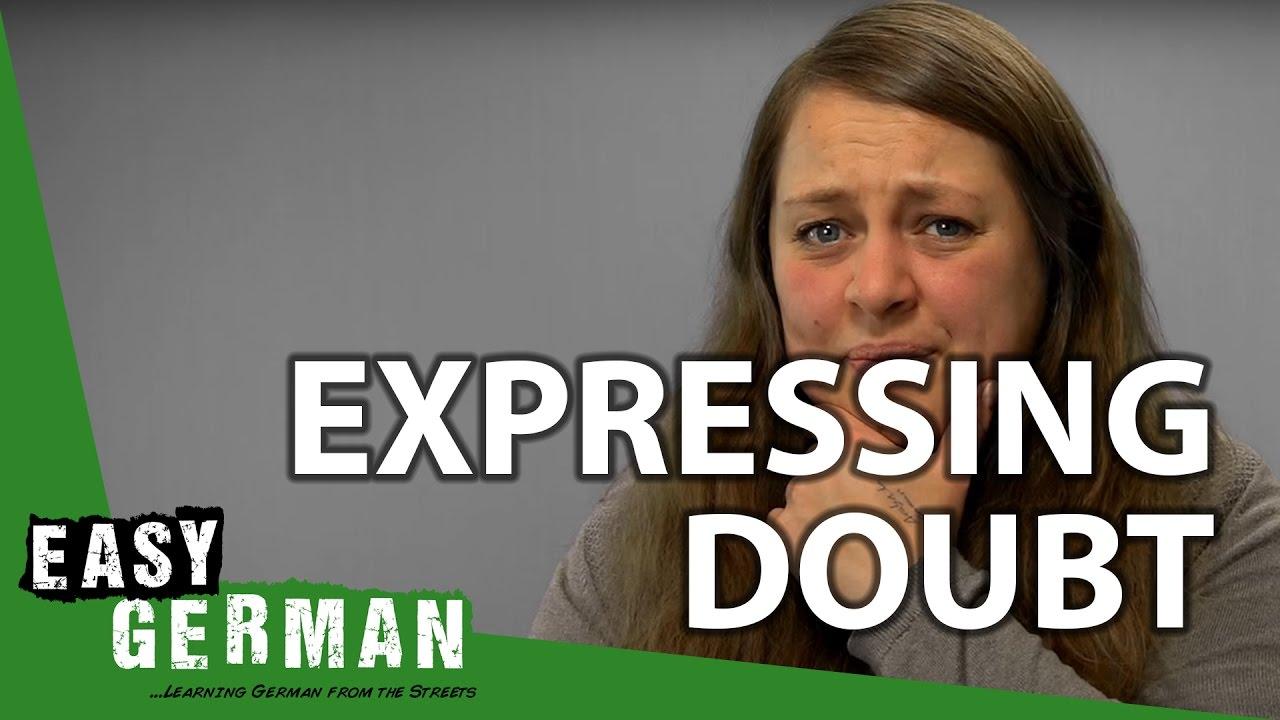 Doubt Deutsch