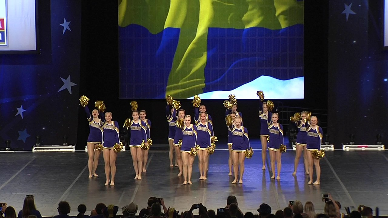 Team Sweden [Team Freestyle Pom Semis