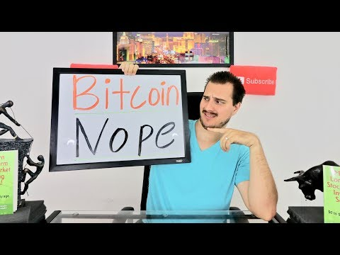 WHY I'M NOT BUYING BITCOIN OR CRYPTOCURRENCIES