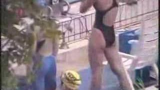 競泳 島本里沙 動画 16