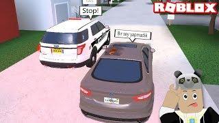 Polis Bizi Kovaladı!! - Panda ile Roblox Pembroke Pines FL