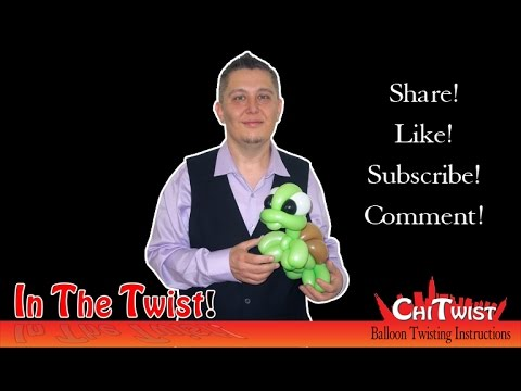 Tubby The Turtle Inthetwist Balloon Animal Instructions Youtube