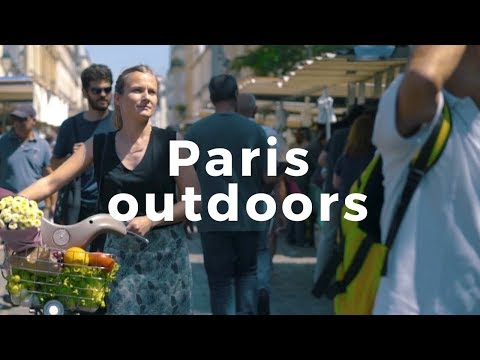 Live your summer outdoors in Paris!