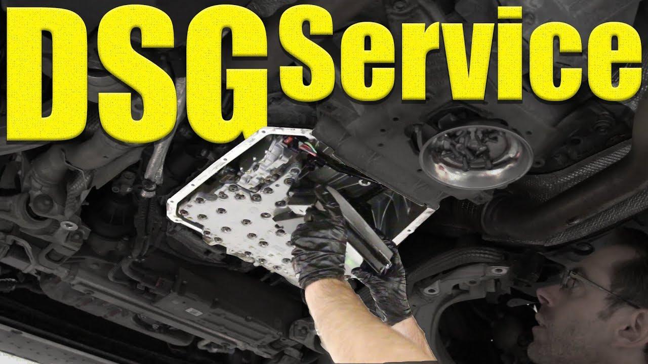 DSG Service for B8 5 Audi S4 (OB5) 7 Speed DIY