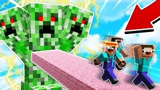 CHASING RED STEVE IN MINECRAFT! (REAL SIGHTING!)
