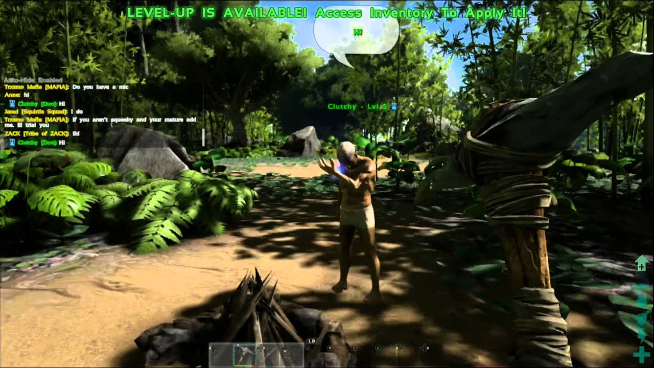how to chat in ark