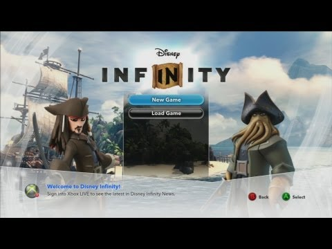 Let's Play Disney Infinity PIRATES of the CARIBBEAN Play Set (Part 1)