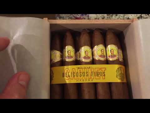 Cuban 🇨🇺 Cigar Unboxing Bolivar Belicosos Finos