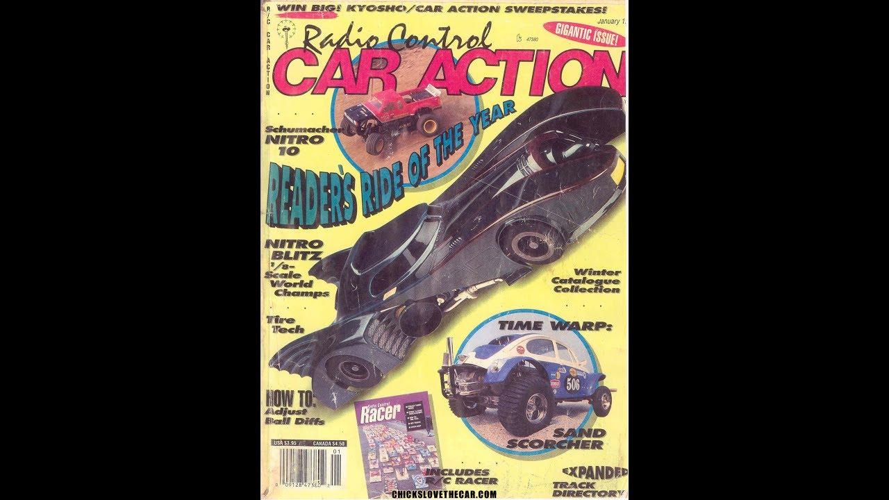 Balsa Batmobile RC car
