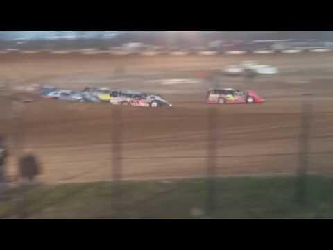Late Model Heat 3 Fayette County Speedway 4/17/18