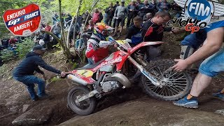 Enduro GP France - Ambert 2019 | Crash | World Championship