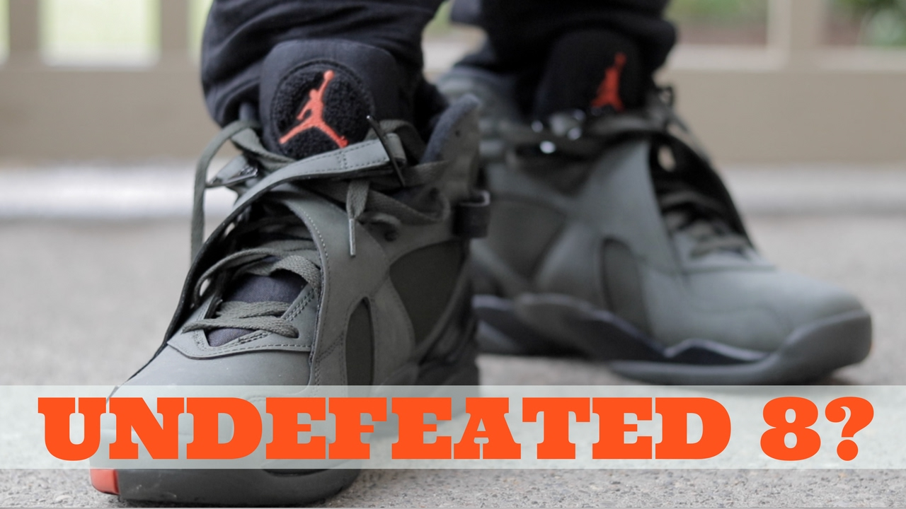 online store 0d12b 84f2f 'UNDEFEATED' AIR JORDAN 8? WAIT..... (TAKE FLIGHT REVIEW)