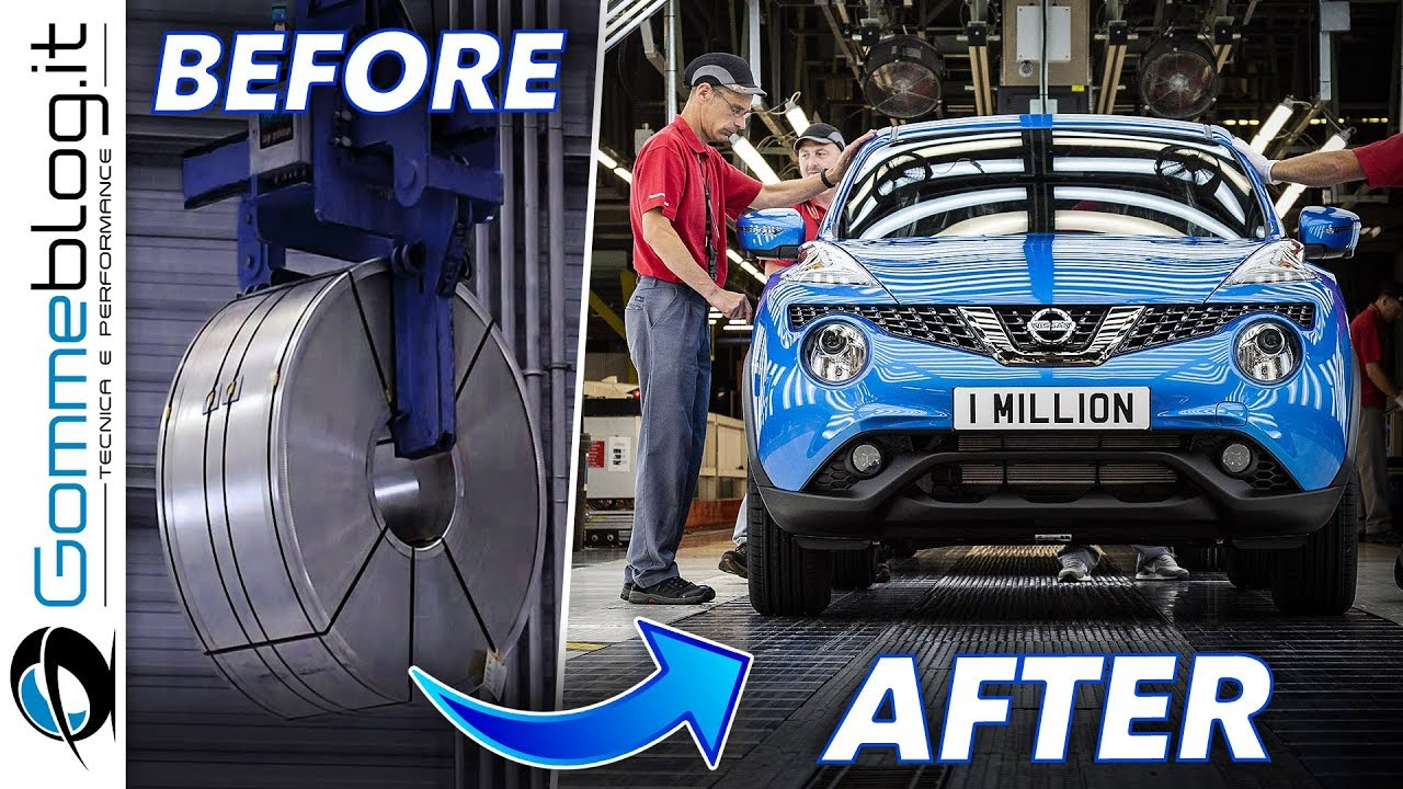 Where Is Nissan Made >> Nissan Juke Car Factory Production How It S Made Crossover Youtube