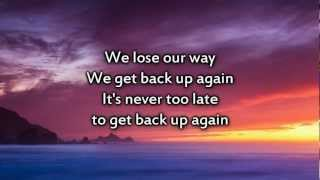 Tobymac - Get Back Up - Instrumental with lyrics