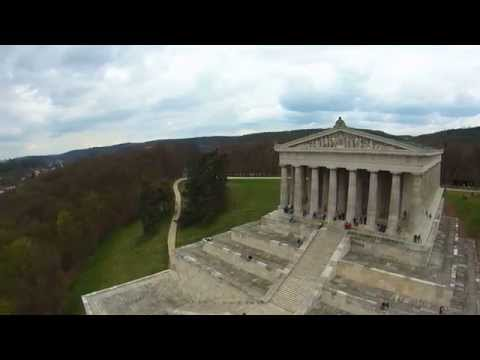 Yuneec Q500 Typhoon Quadcopter at Walhalla memorial hall of fame