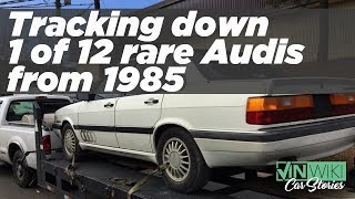 Searching for 1 of 12 Brock Yates Cannonball Run Edition Audis