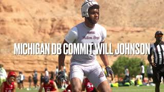 Michigan Commit Will Johnson Shuts It Down In Las Vegas!!!