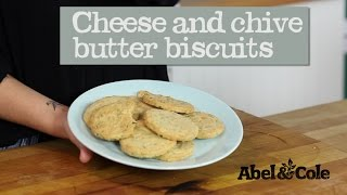Cheese And Chive Biscuits | Abel & Cole