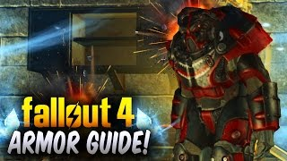 Fallout 4 Rarest & Best Power Armor Locations Guide ! (Fallout 4 Legendary Power Armor)