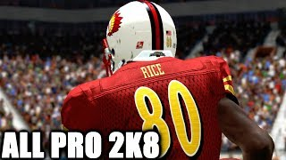 ALL PRO FOOTBALL 2K8 - STILL THE GOAT