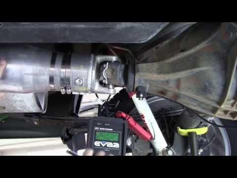 On-Car Driveshaft Balancing - Part 1 of 2 - EVA Strobe Light