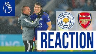 'A Great Performance' - Brendan Rodgers | Leicester City 2 Arsenal 0