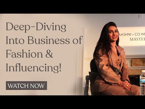 The Business of Fashion & Influencing - My London Masterclass // Masoom Minawala
