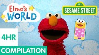 Sesame Street: Four Hours of Elmo's World Compilation!