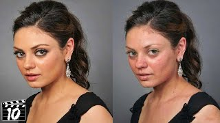 Top 10 Celebrities Who Look Different Without Makeup - Part 2