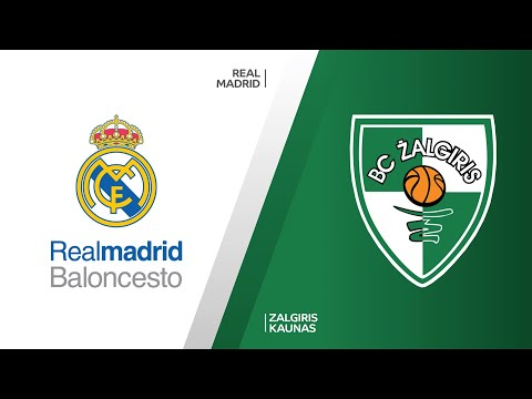 Real Madrid - Zalgiris Kaunas Highlights   Turkish Airlines EuroLeague, RS Round 26